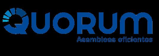 Quorum app votaciones y Asambleas en línea con resultados en tiempo real Logo